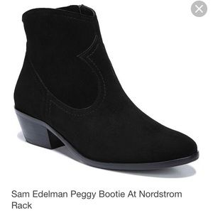 ISO Peggy Boots, Black or Dark Brown